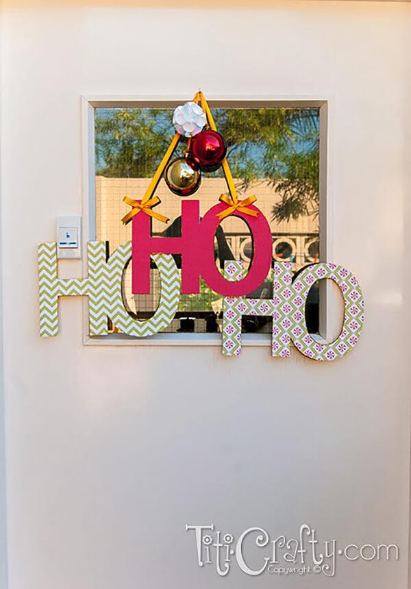 Ho Ho Ho Holiday Decor