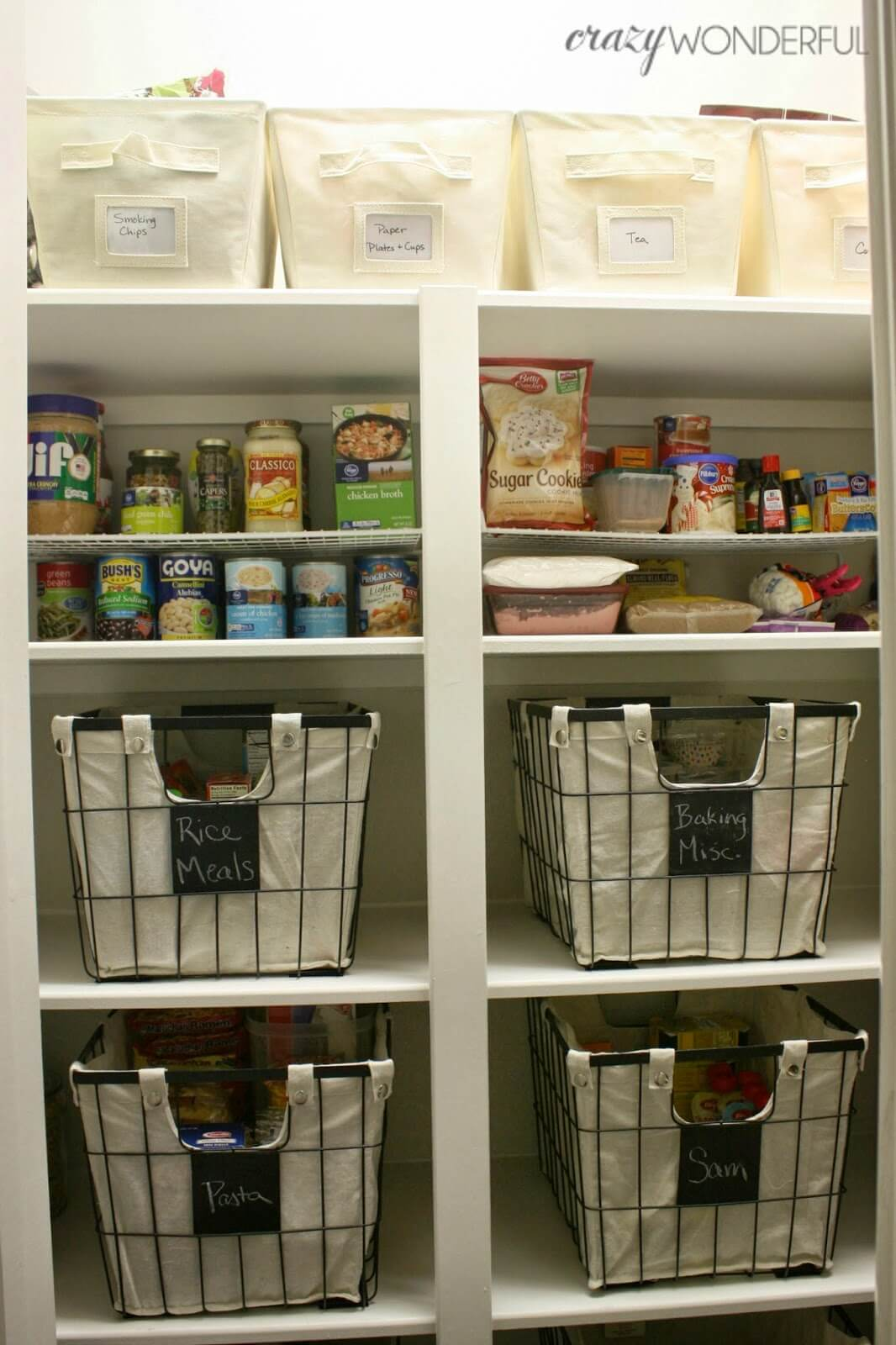 Looking for Less Intensive Pantry Organization Ideas