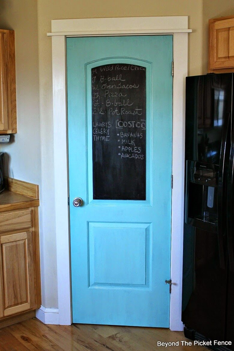 Make Your Pantry Door Do Double Duty