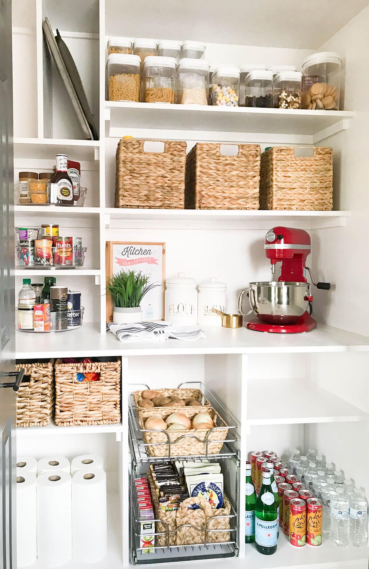 Consider Custom Pantry Shelving Ideas