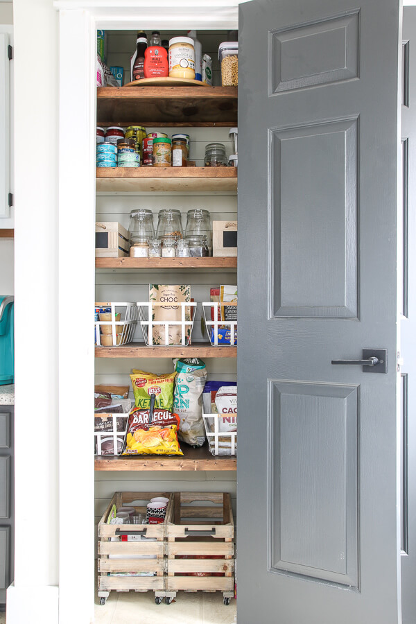 A Reorganization that Recaps Kitchen Pantry Ideas