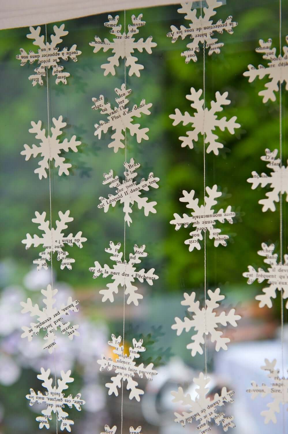 Snowflakes for the Literary on a Budget