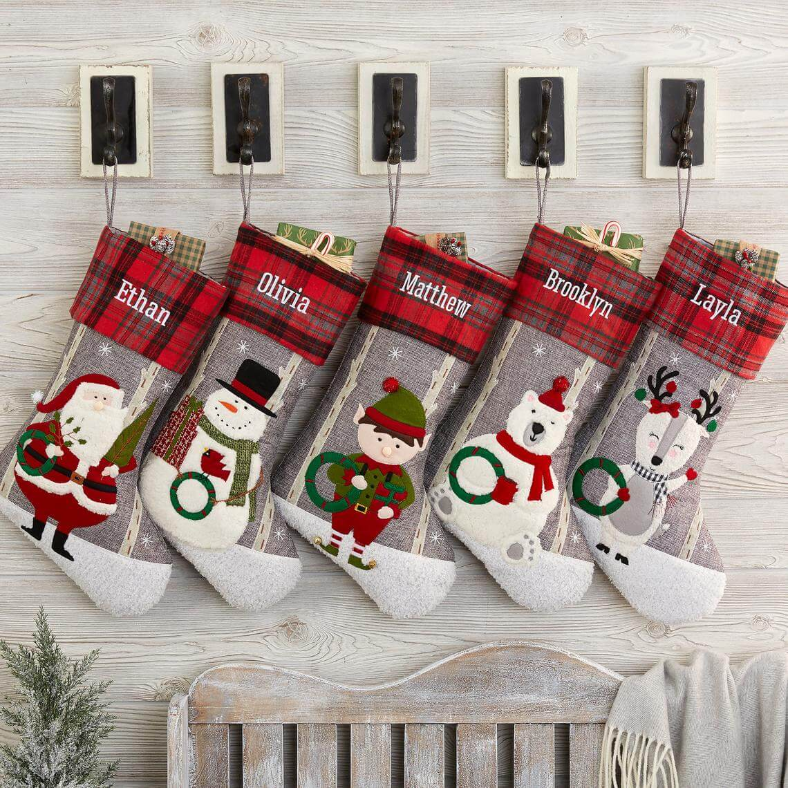 Personalized 3D Cartoon Stockings