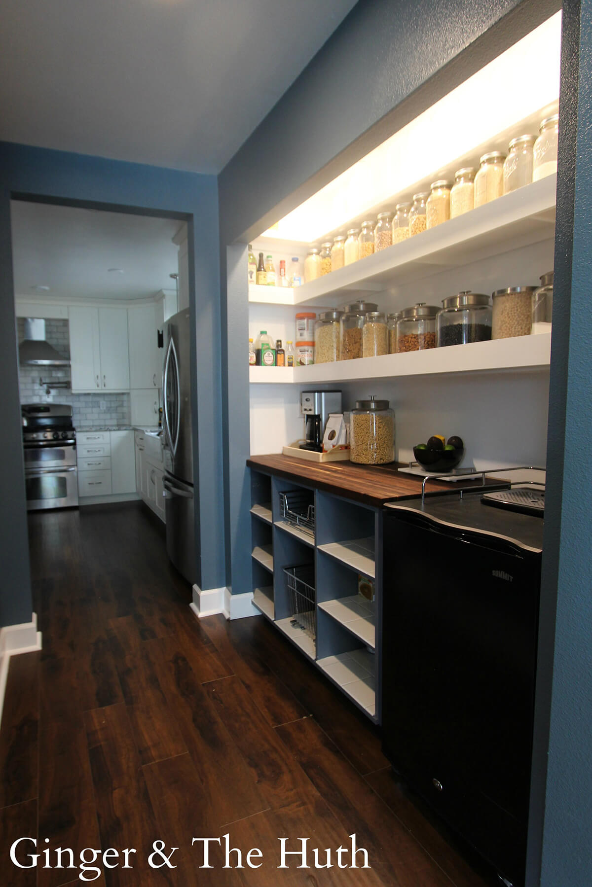 Open Pantry Design Fit for a Chef