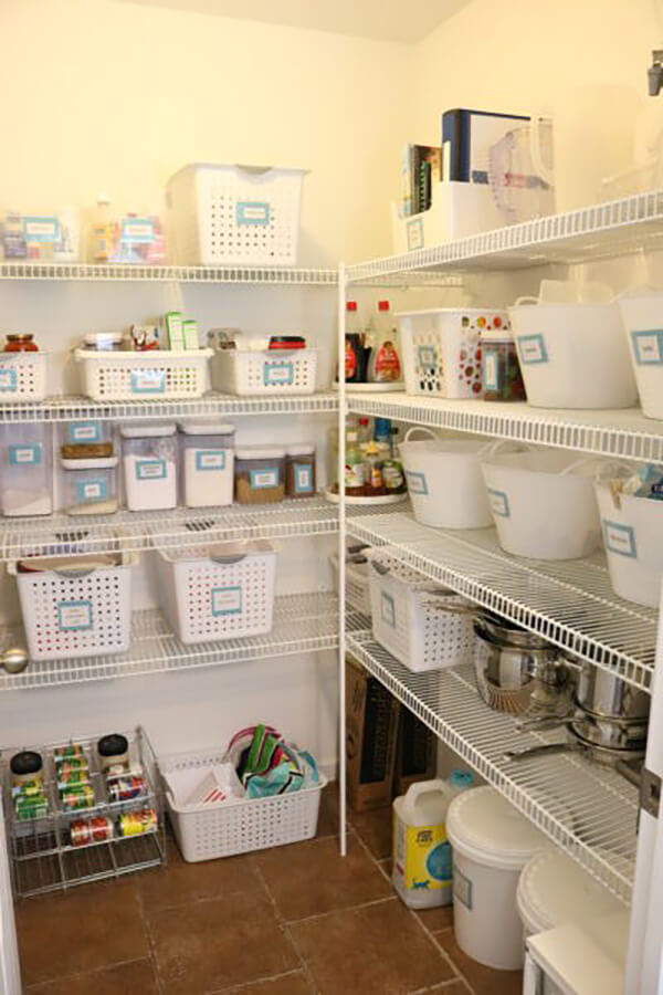 Grouping Products in Your Pantry