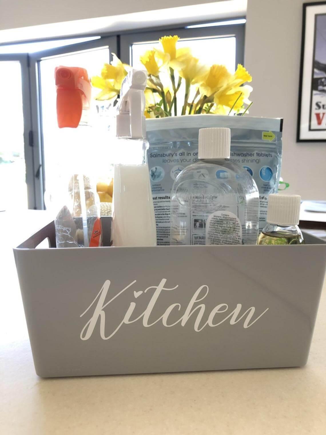 Personalized Plastic Kitchen Storage Boxes