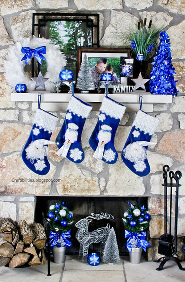 Bright Christmas Blue Through and Through