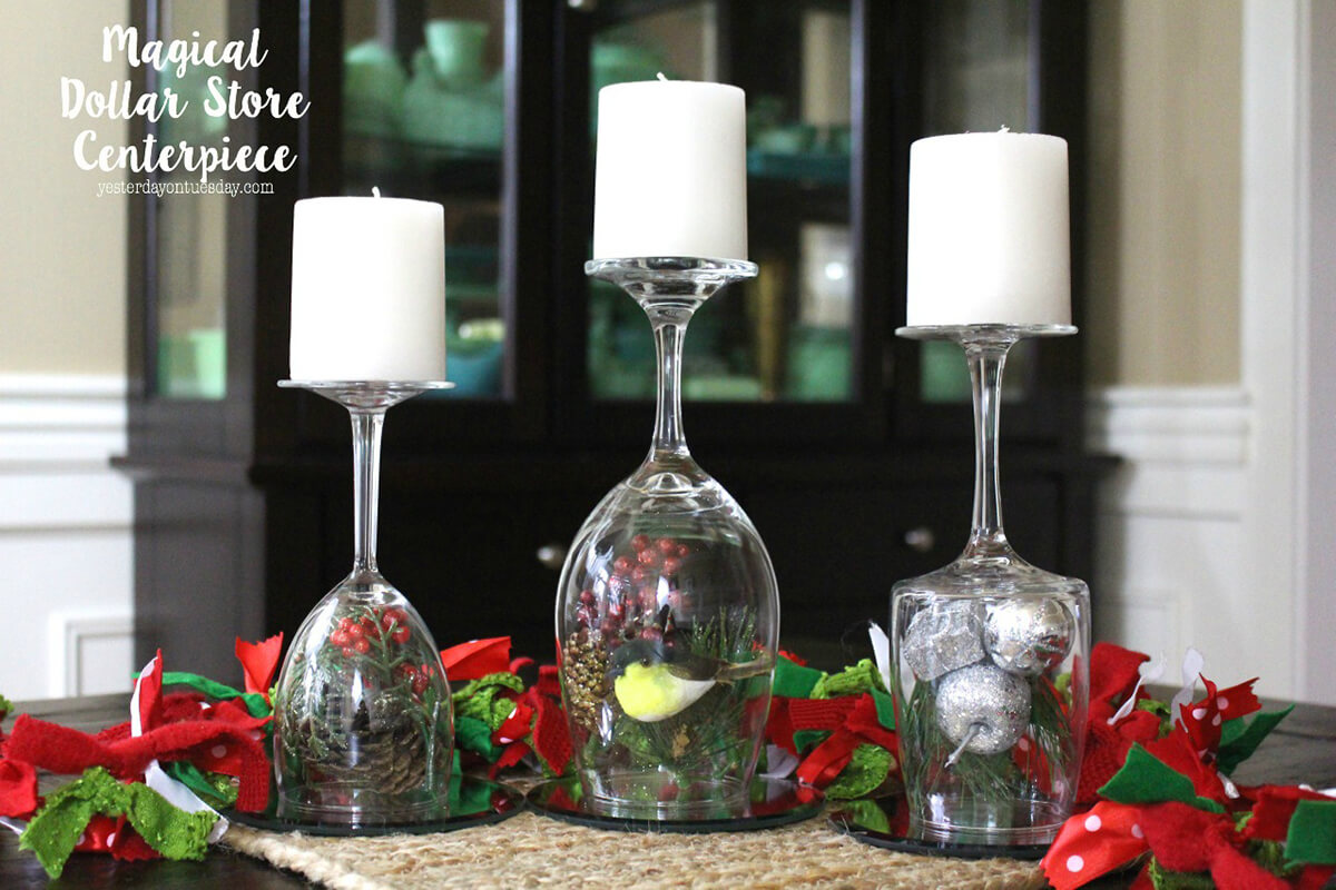 Centerpiece Made Easy With Dollar Store Finds