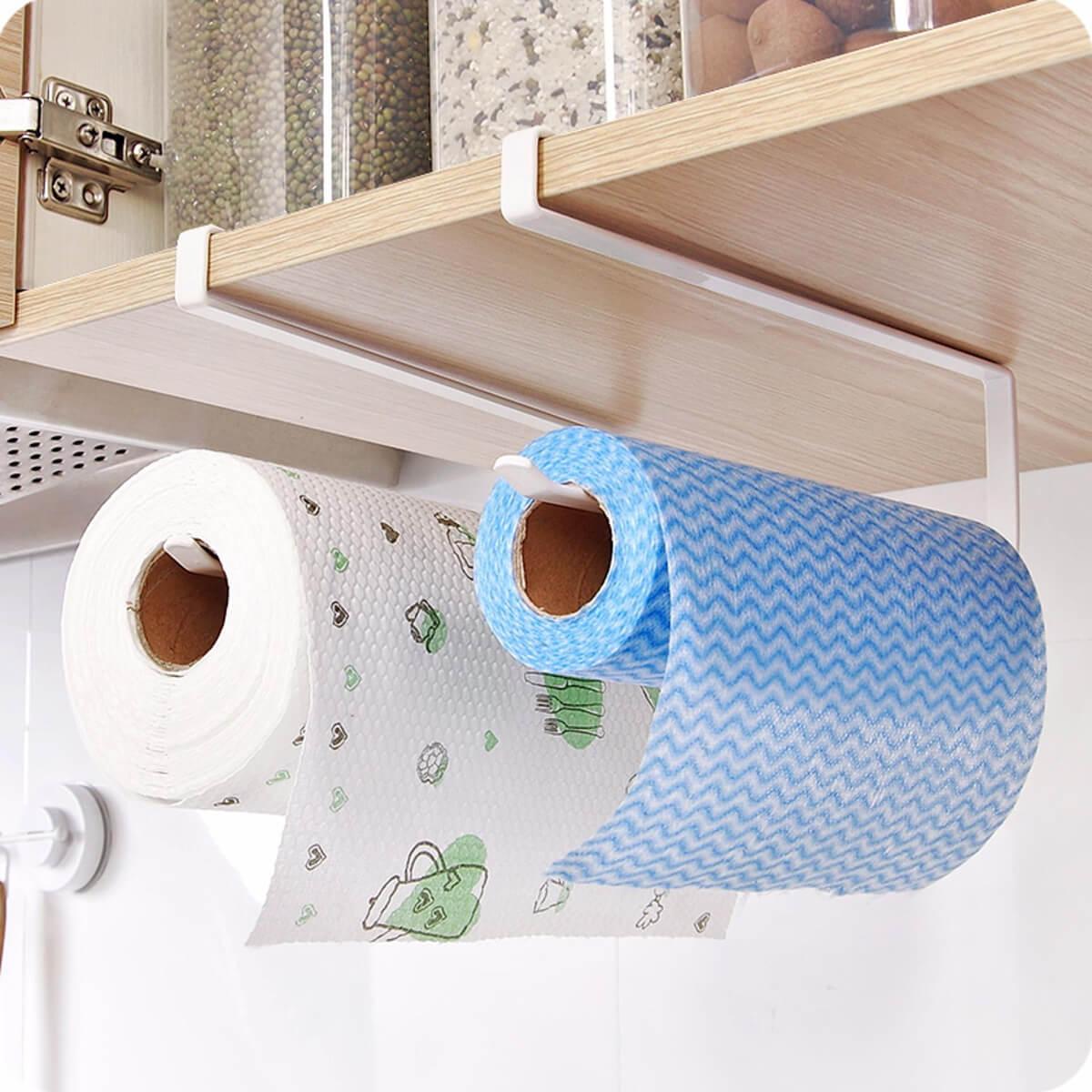 Hanging Cabinet Paper Towel Holder