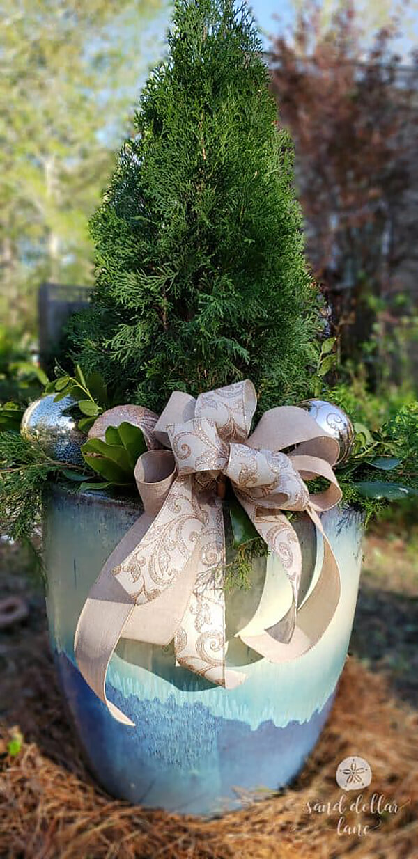 Jazz Up Your Garden with Ribbons