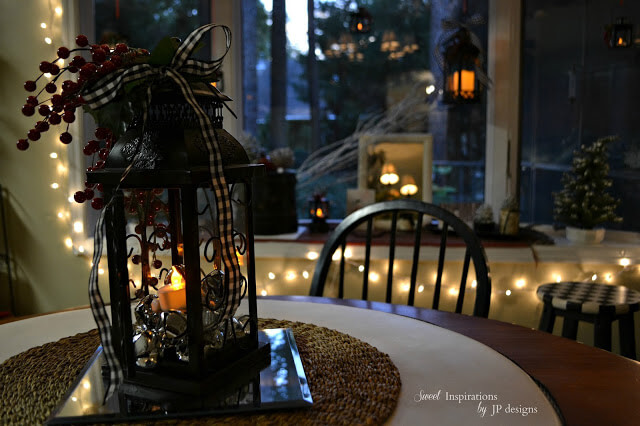 Have a Berry Merry Christmas Lantern