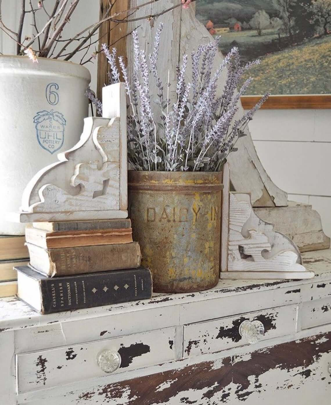Distressed and Decorative Shabby Chic Farmhouse Decor