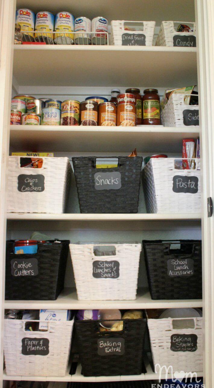 Tuxedo-Look Kitchen Pantry Ideas