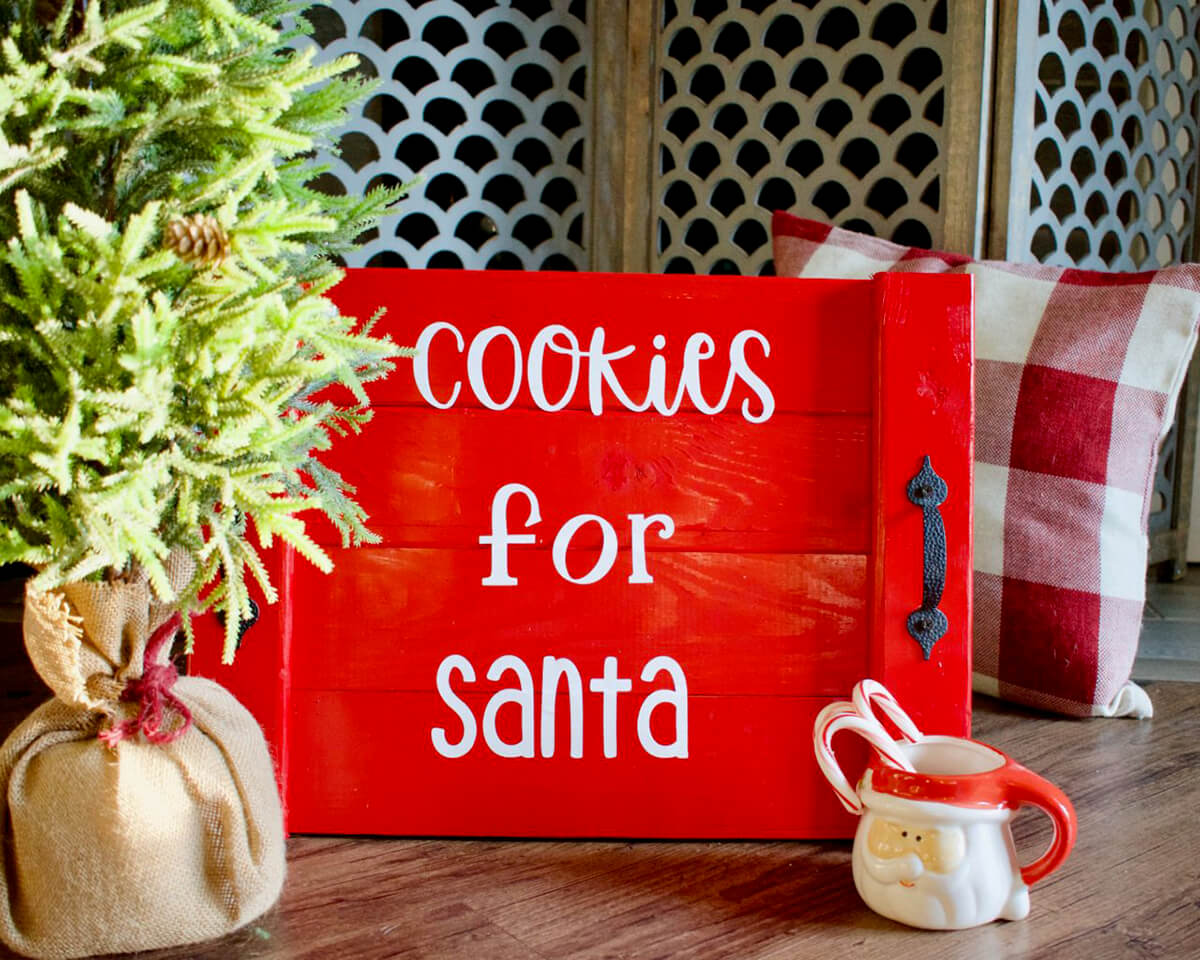 Christmas Eve Cookie Tray for Santa