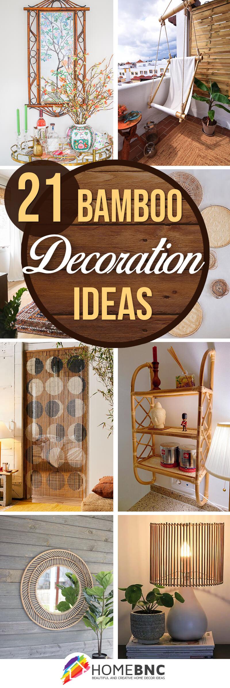 Best Bamboo Home Decor Ideas