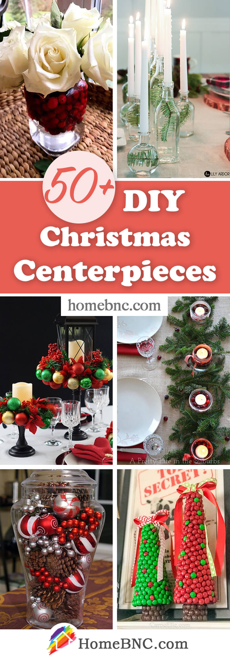 DIY Christmas Centerpieces