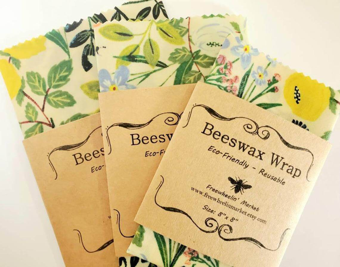 Environment-Friendly Beeswax Natural Food Wrap