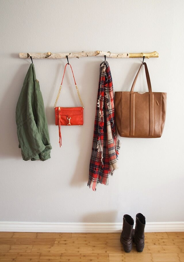 Cool Driftwood Wall Coat Hanger