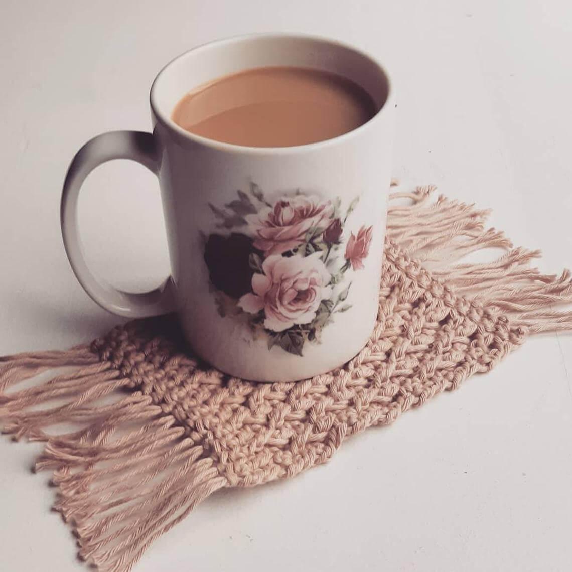 Warm Up with a Mug Rug