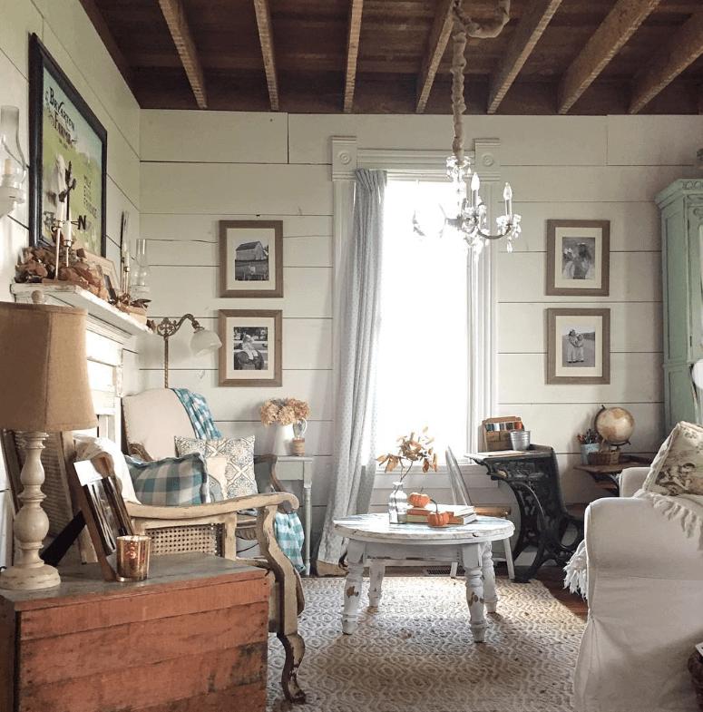 Vintage Inspired Living Room Overhaul