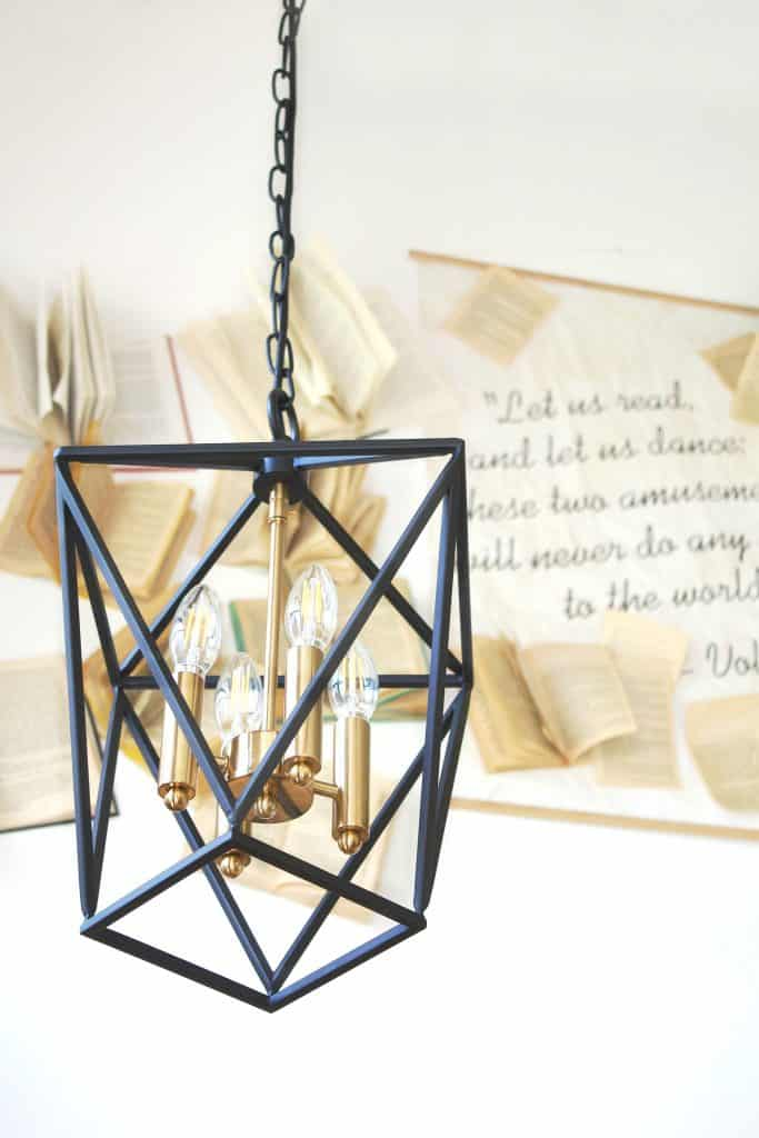 Modernized See-Through Hanging Industrial Lighting