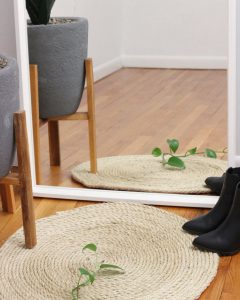 Round Up Texture with a Jute Rug