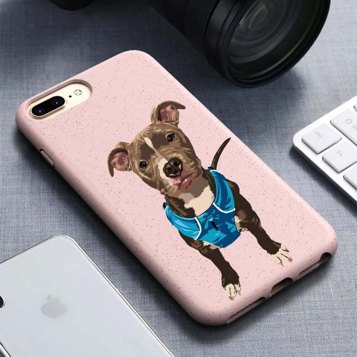 Eco-Friendly Custom Portrait Phone Case