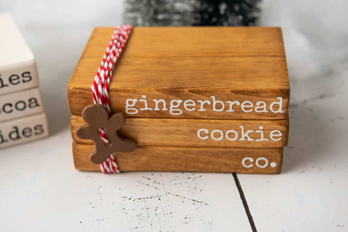 Catch Me If You Can Gingerbread Decoration