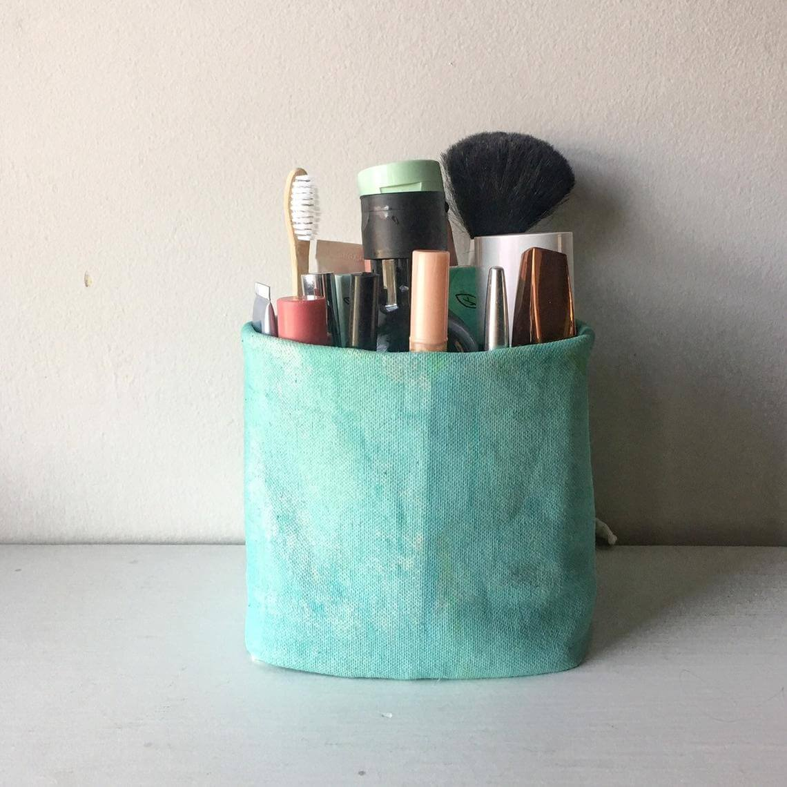 Crafty and Cool Fabric Storage Bin
