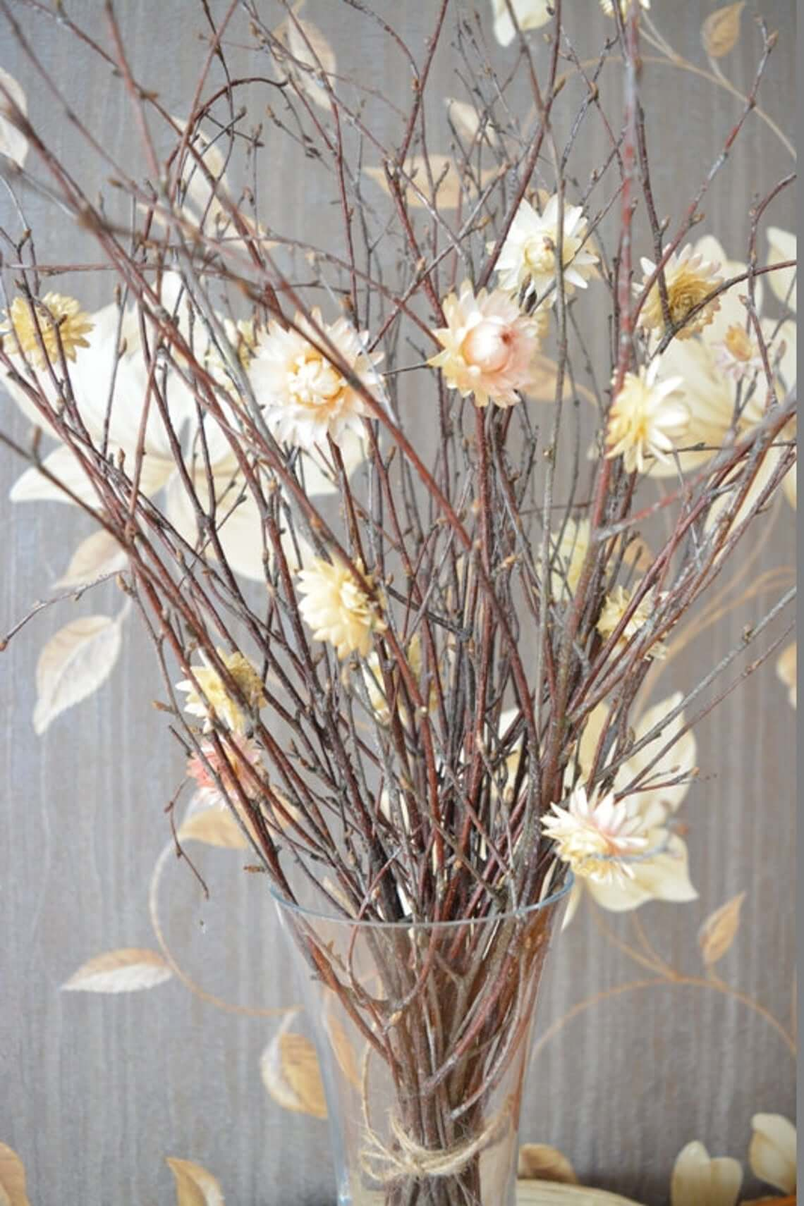 Fine Birch Branch Vase Filler