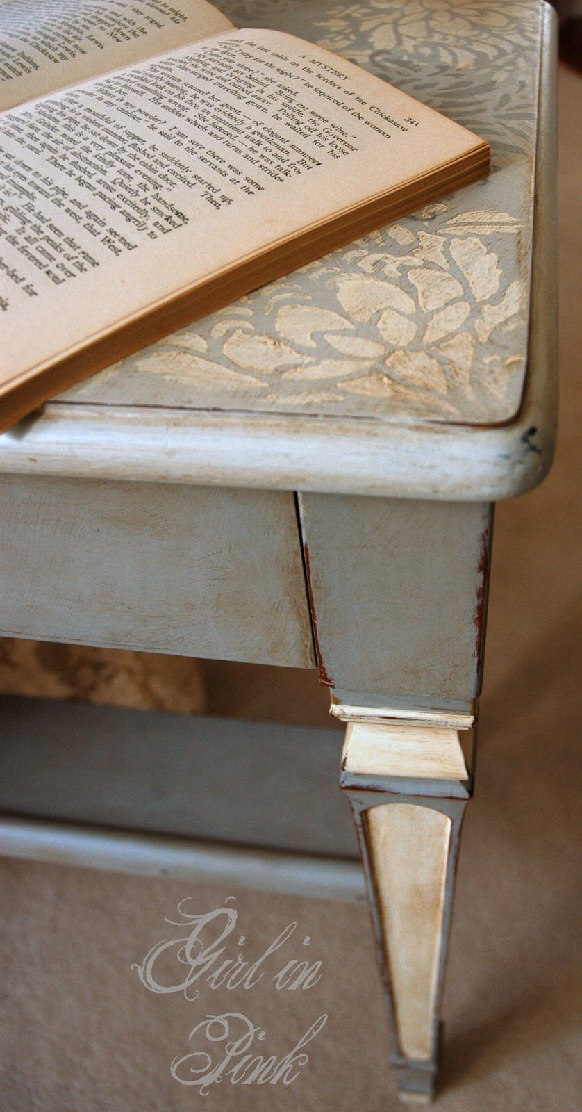 French Chic Piano Bench Renovation