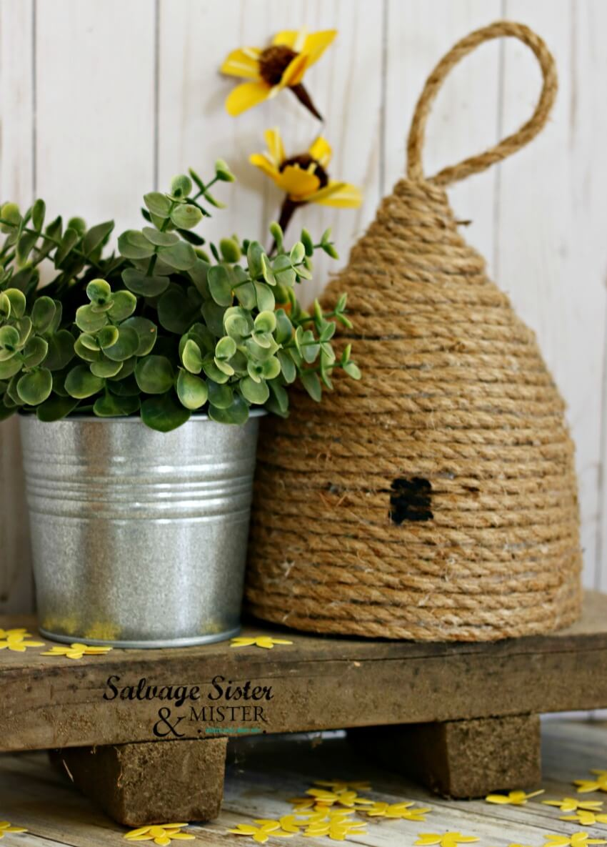 Twirling Twine Safe and Sweet Beehive