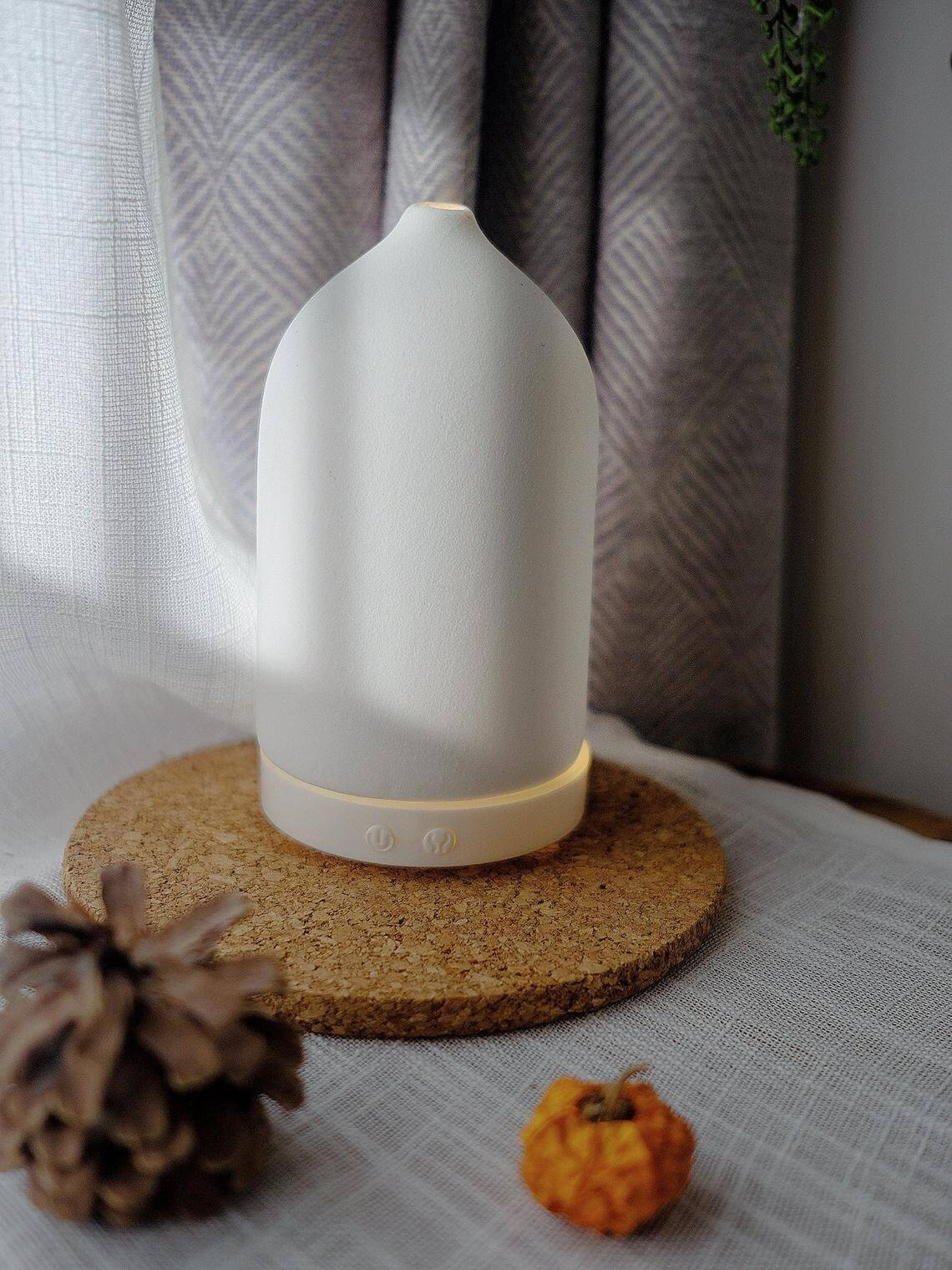 Handcrafted Cork Essential Oil Diffusing Stone