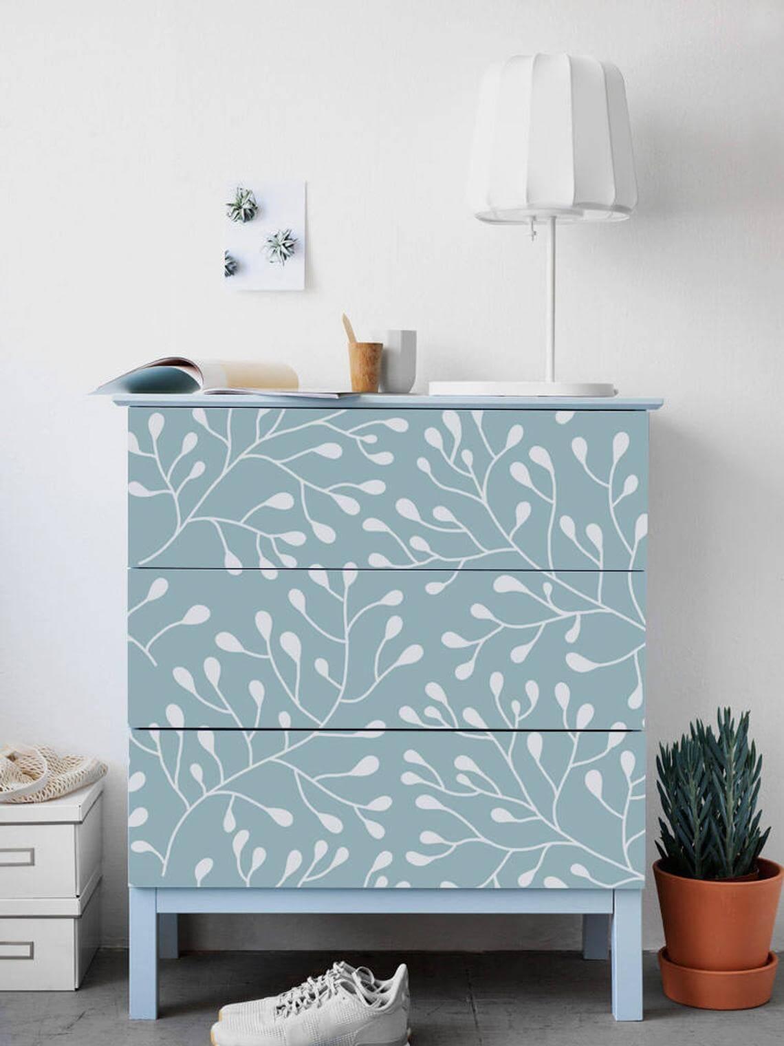 IKEA MALM Dresser Branch Decals