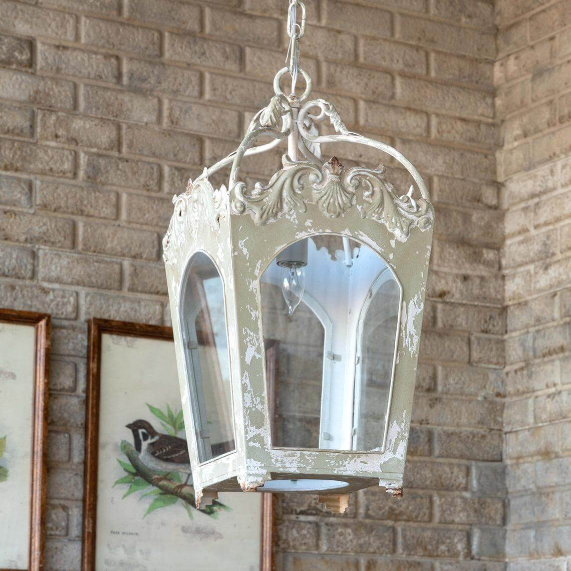 Nouveau Inspired Portico Light Fixture