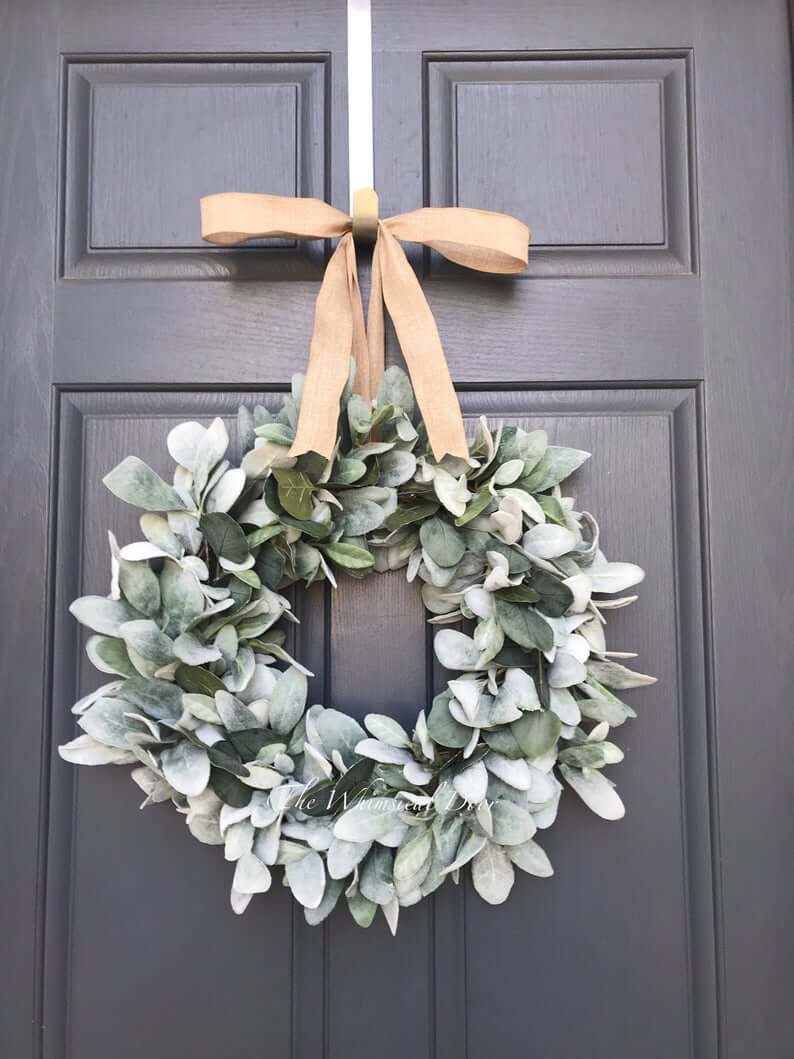 Soft and Sweet Eucalyptus Wreath