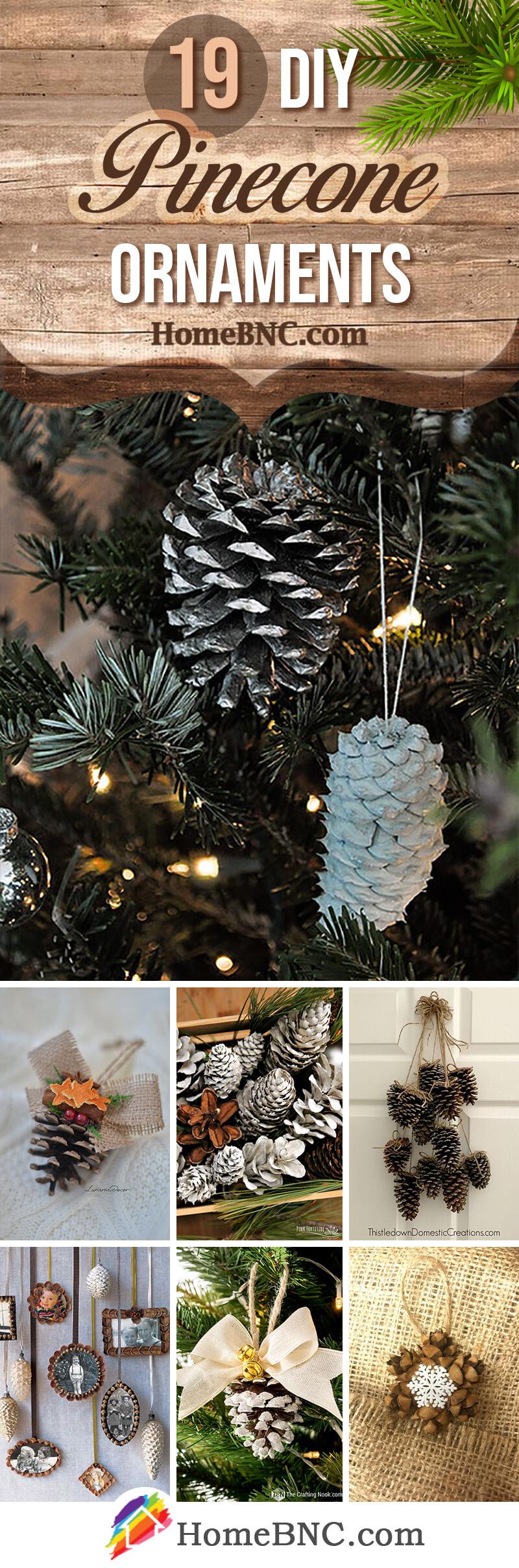 Best DIY Pinecone Ornaments