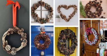 Best DIY Pinecone Wreaths