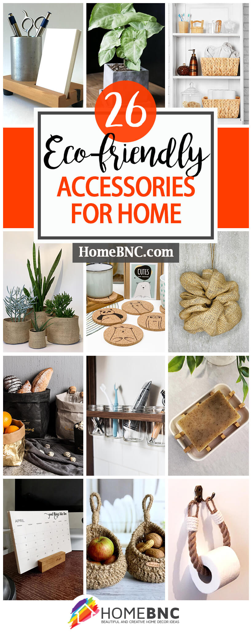 Best Eco-friendly Home Accessories