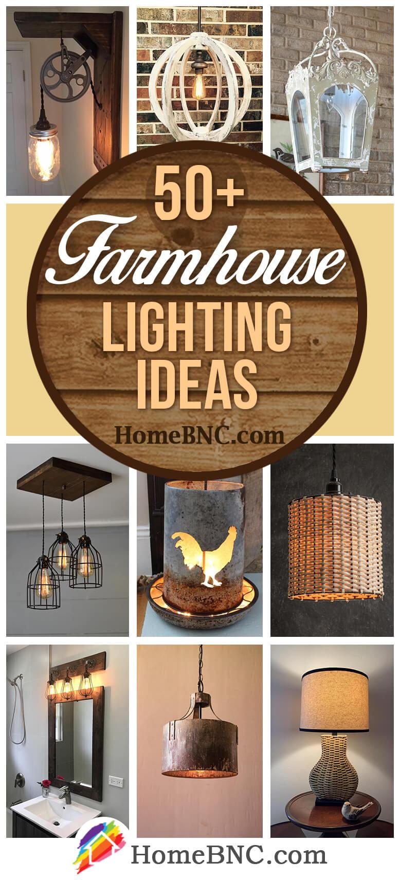 Farmhouse Lighting Decor Ideas