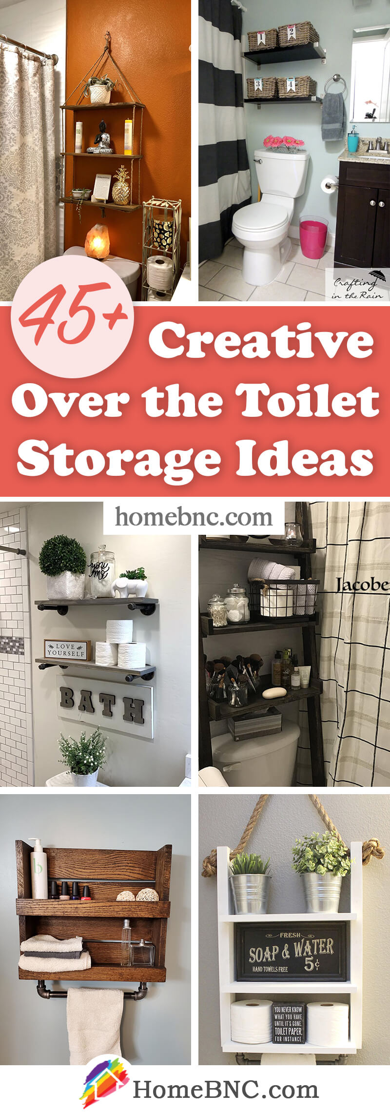 Over The Toilet Organization