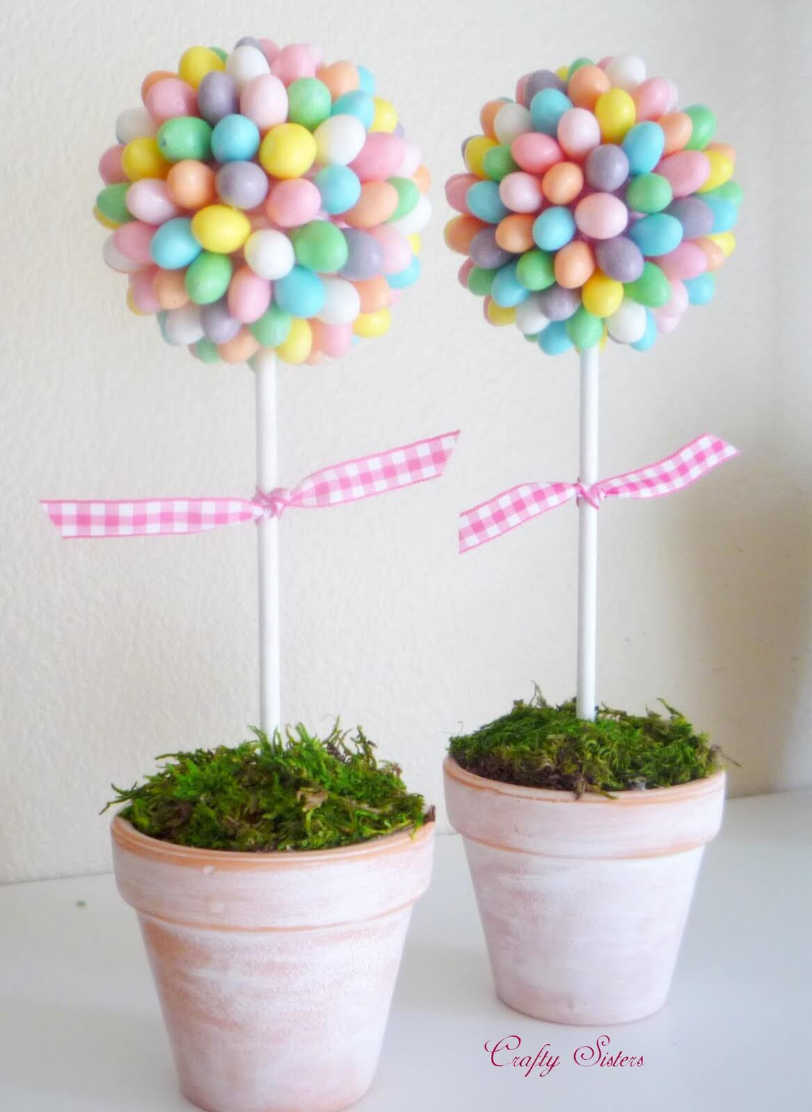 Jelly Bean Topiary in Pretty Pastels