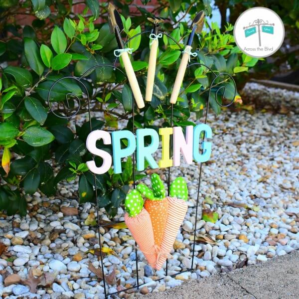 Ring in Spring with a Cute DIY Garden Decoration