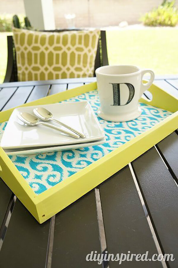 Beautifully Appointed Springtime Colorful Tray