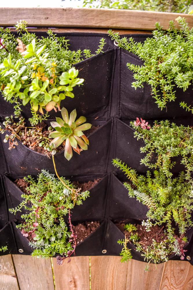 Pocket Pouch Garden Planters