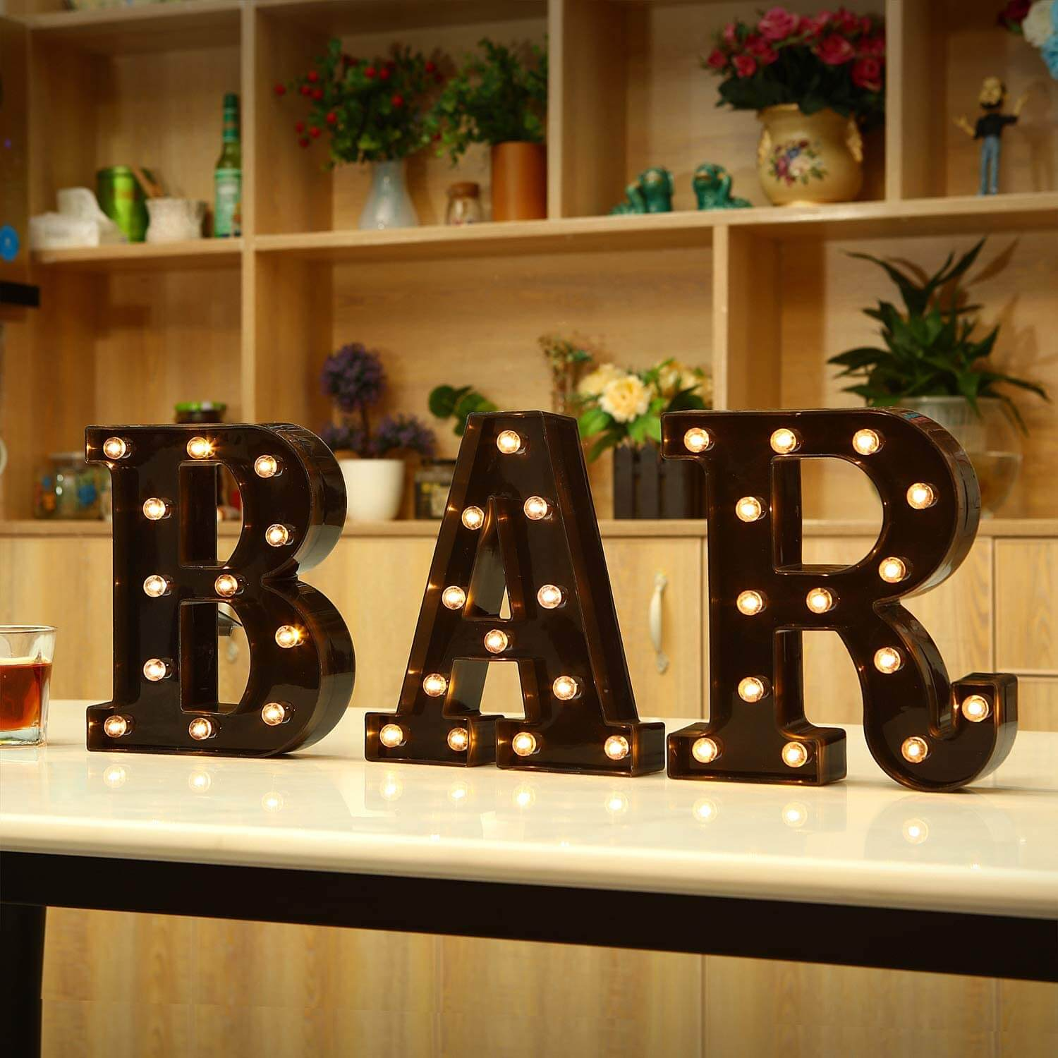 Fun Bold LED Marquee Letter Lights