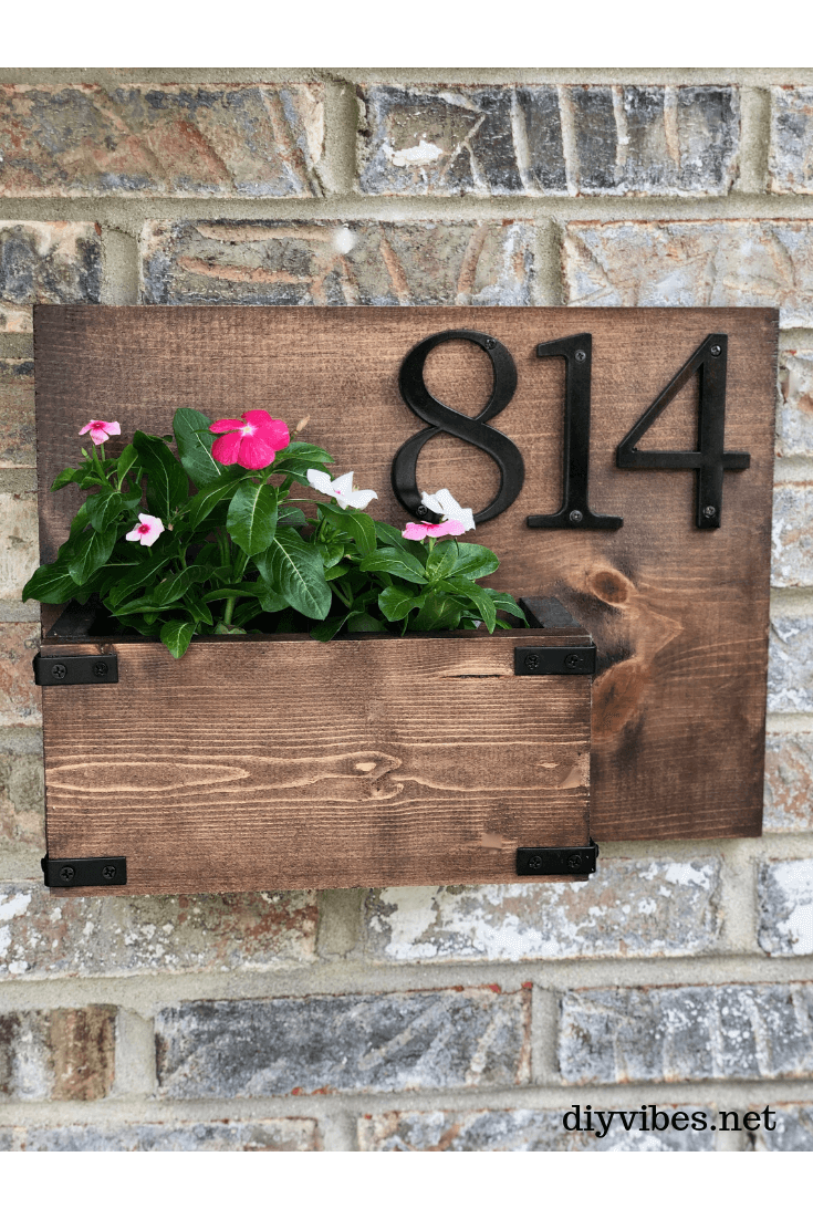 Country Style DIY Address Sign