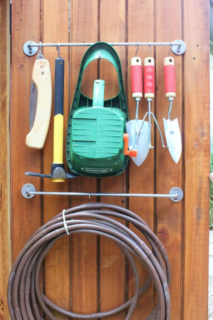 Easy DIY Tool Shed Upgrade