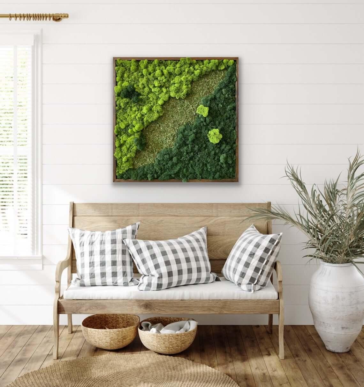 Mixed Moss Wall Garden Decor