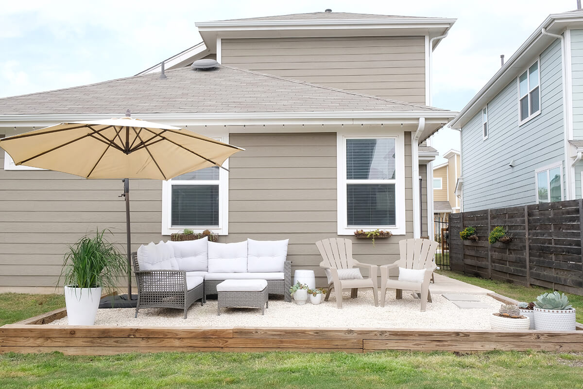 A Gravel Patio That's Easy and Affordable